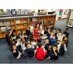 Author Visit and Mindfulness Session at Bayles Elementary Dallas ISD